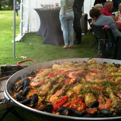 Paella is zeer geschikt voor feestelijke gebeurtenissen